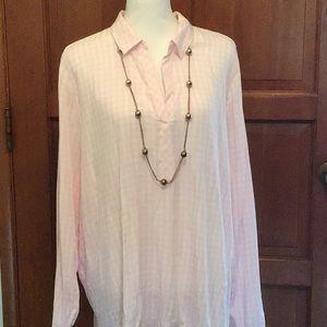 J Jill  size XL Long Sleeve Blouse